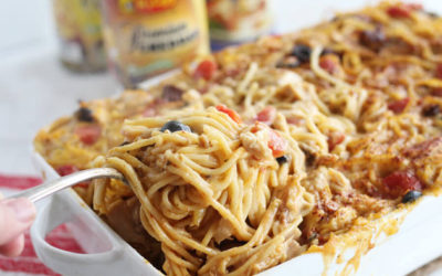 Mexican Chicken Spaghetti